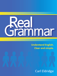 Cover: Real Grammar - Understand English. Clear and Simple
