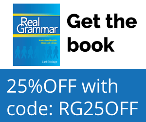 Get the Book - Real Grammar: Understand English. Clear and simple.