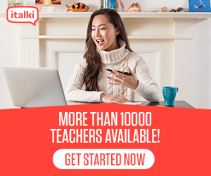 italki: More than 10000 teachers available!